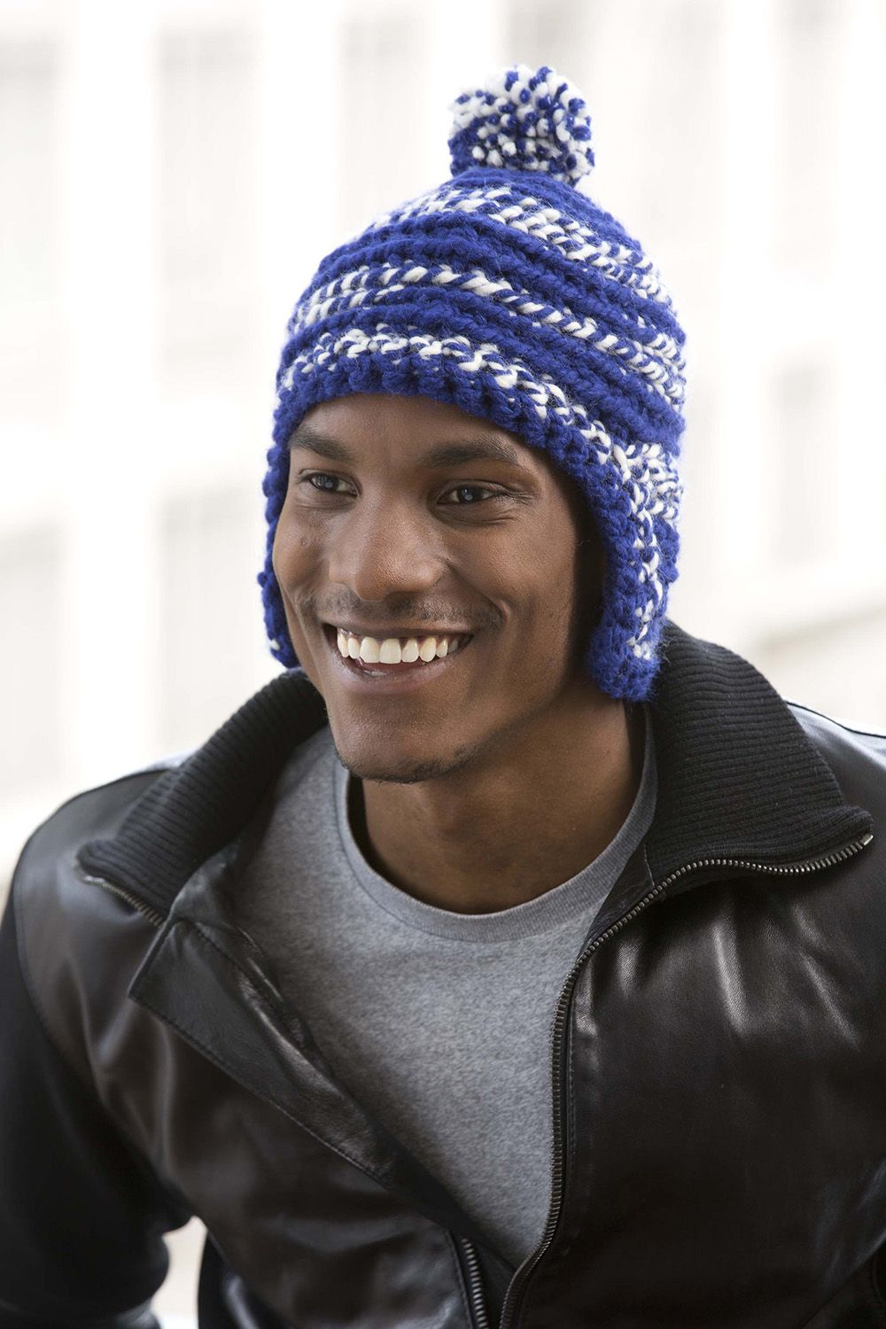 Unisex Hat: Lion Brand Yarns | Crochet & Knit | Pinterest