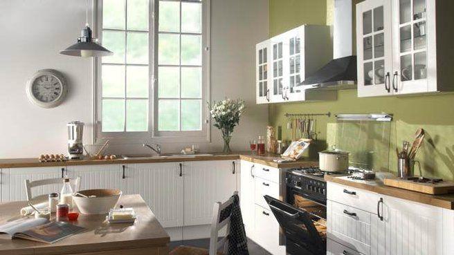 Deco marron : Association couleur (vert anis, taupe, orange) et ...