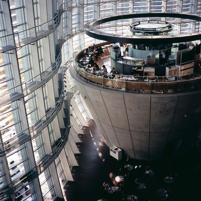 the National ART centre in Tokyo  by  Masahiko NAGASHIMA