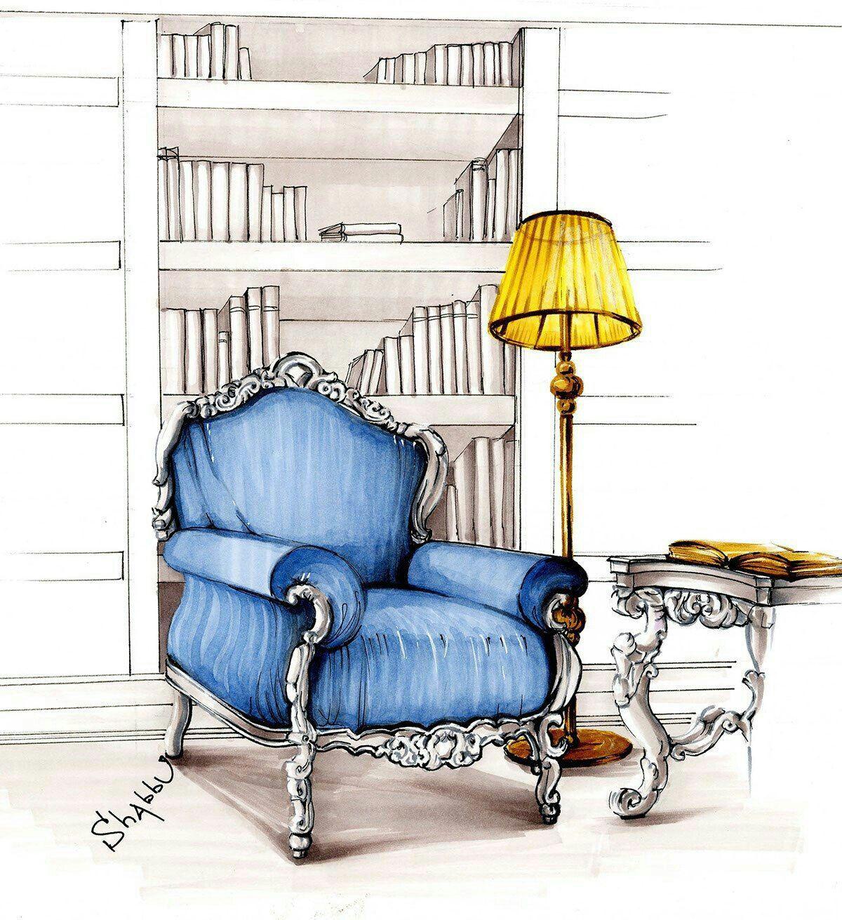 Skizzierung Skizzen Zeichnungen Innenarchitektur Architekten Interior Design Portfolios Designs Zeichnen
