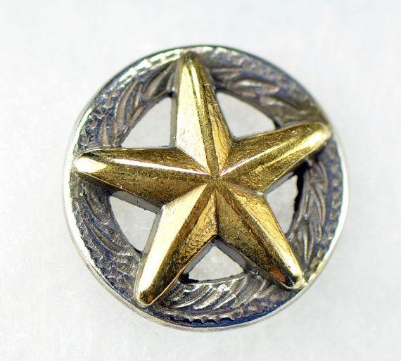 0d158ac3cd8b Texas Star 3D Concho / Tie Tack Lapel Pin by TacticalParacordGear, $14.95