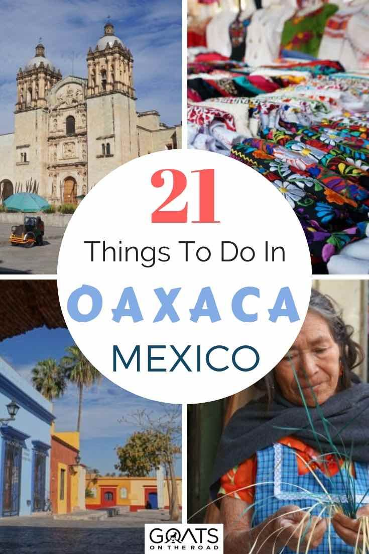 Travel Oaxaca (Mexico): 21 Things To Do in Oaxaca You Don't Want To Miss.  Trying to choose where to go in Mexi...