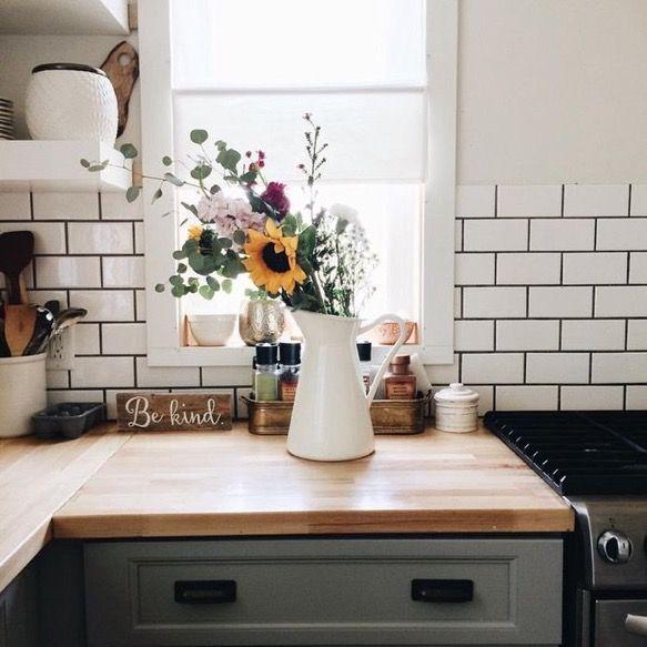 Wunderbar Küche Esszimmer, Einrichten Und Wohnen, Zuhause, Projekte, Grauer  Fugenkitt, Metro Fliesen