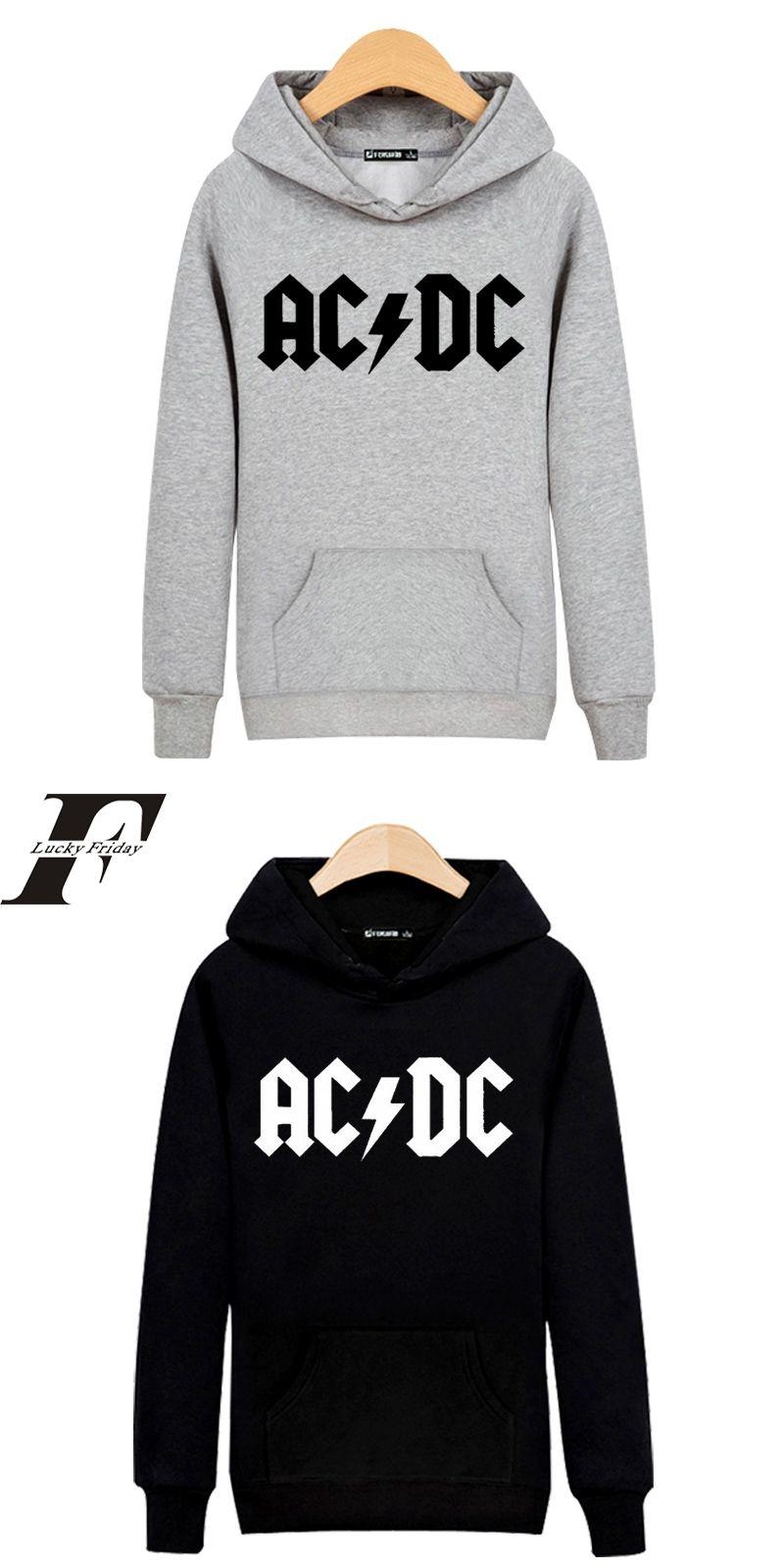93bd572ed9d0 Hip Hop Rock Music AD DC men clothing hoodie Mens Hoodies and Sweatshirt men  tracksuit