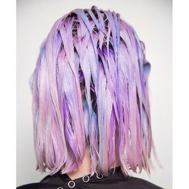 Process Pravana Pastelhair Dyed Hair Pinterest Hair