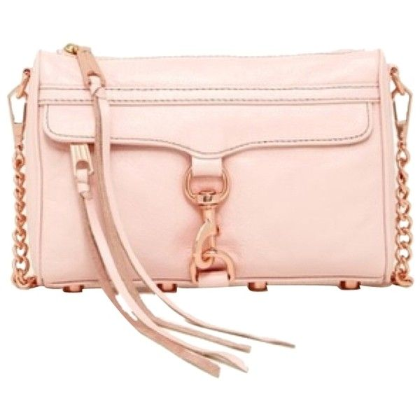 d5afded5722a Pre-owned Rebecca Minkoff Mini Mac Quartz Cross Body Bag ( 165) ❤ liked