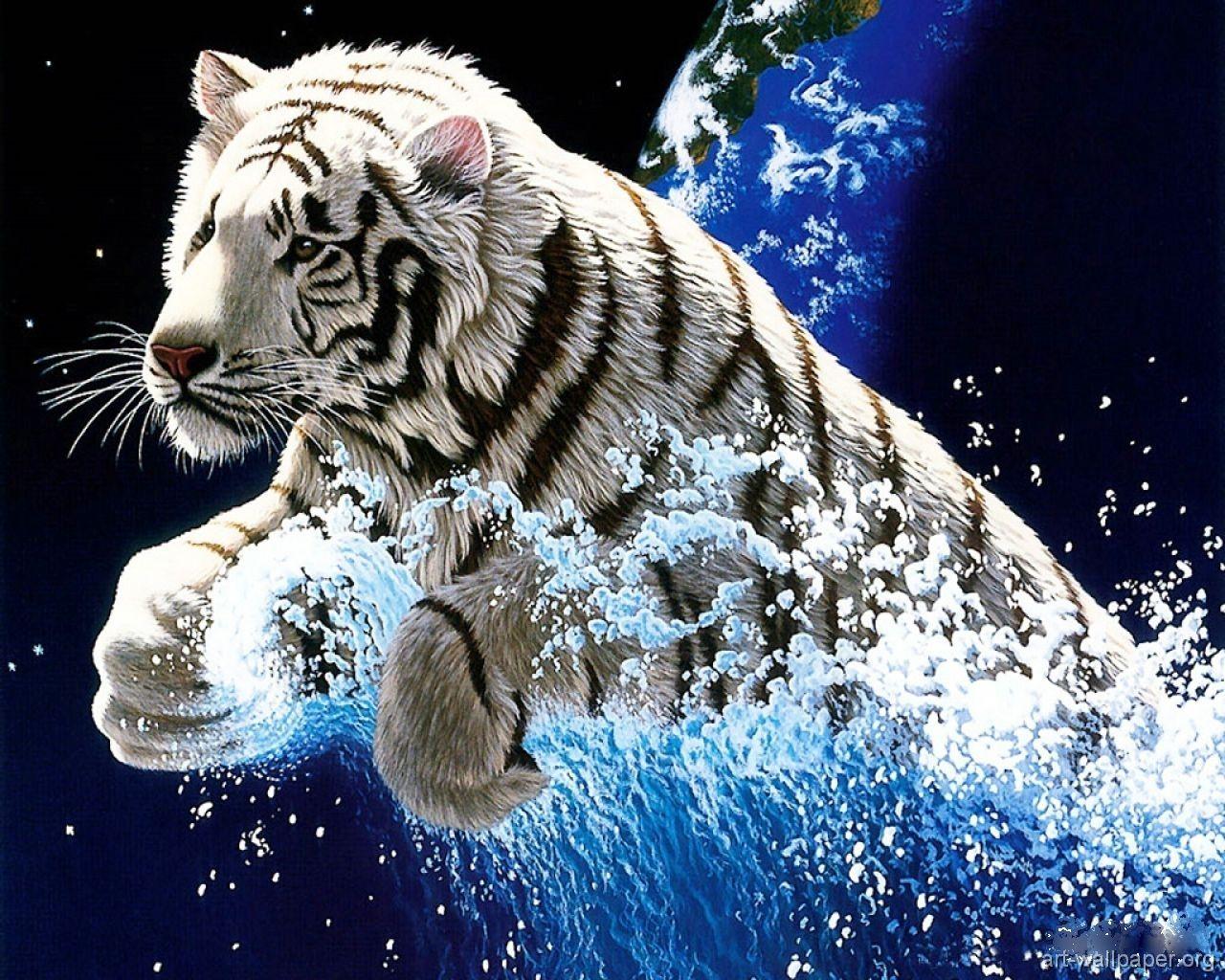 White tiger myth magic pinterest tigers white tiger 3d wallpaperanimal voltagebd Images