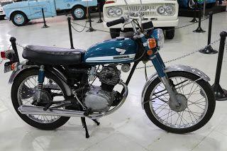 OldMotoDude: 1970 Honda CB100 On Display At The San Diego Auto .