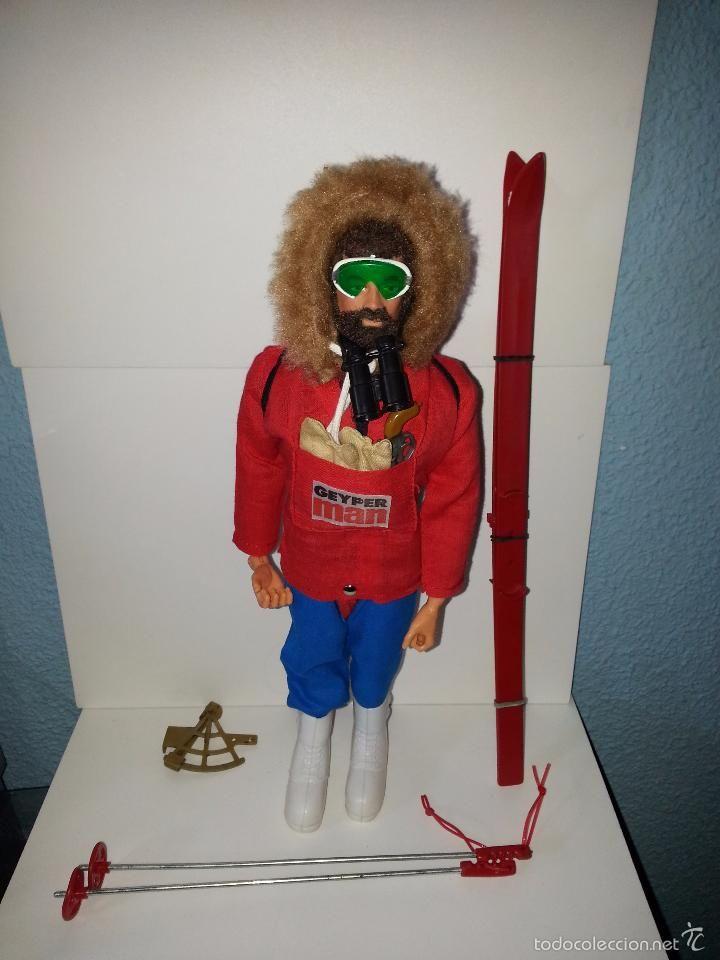 Geyperman explorador polar muñeco original primera generacion - Foto 1