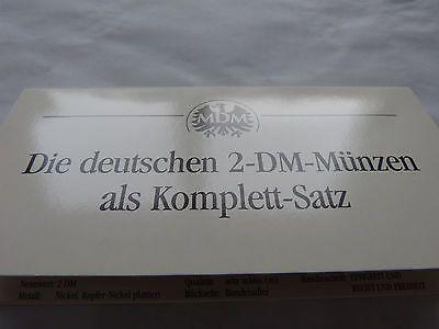 2 Dm Münzen Adenauer Heuss Schumacher Erhard Strauß Und Brandt