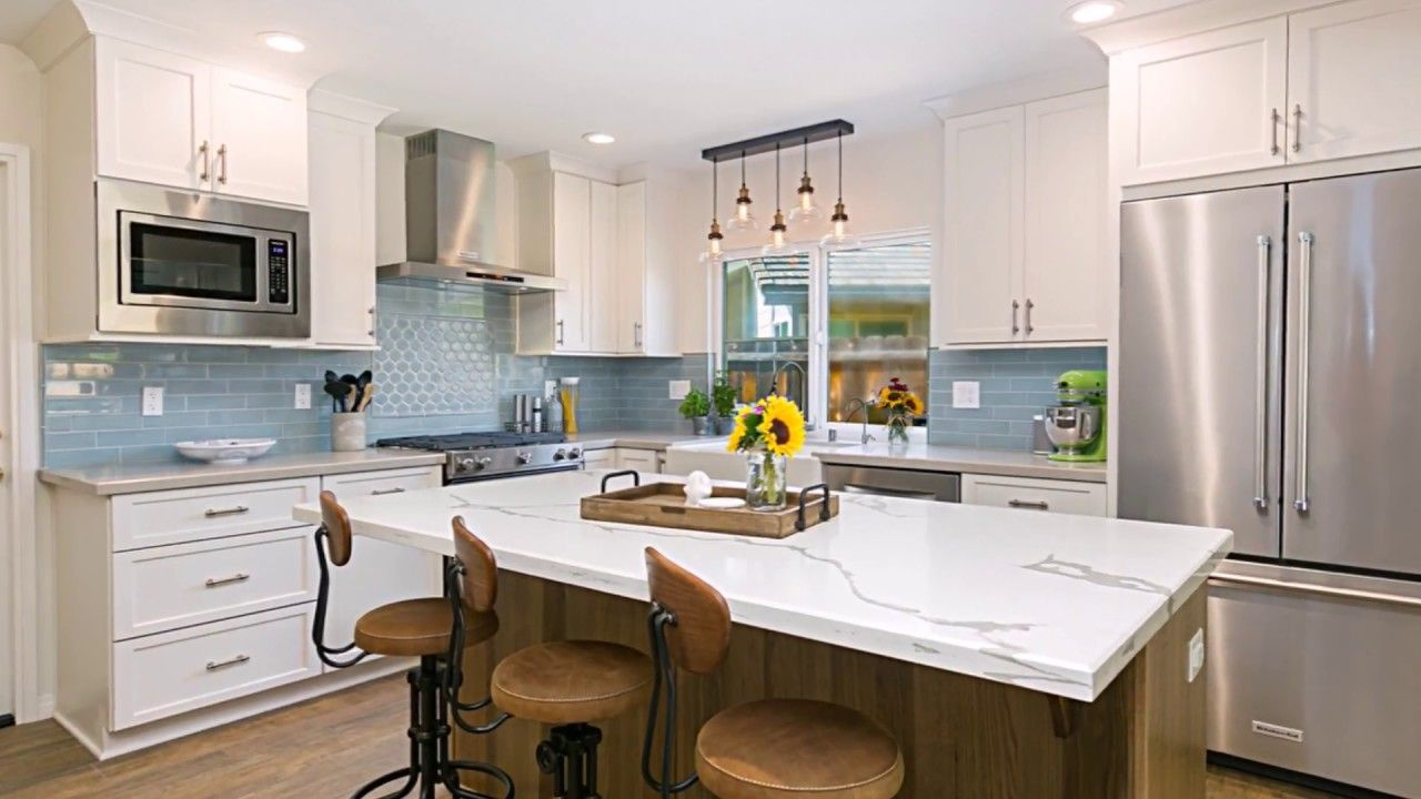 Enjoy a quick video tour of a Carlsbad Transitional Kitchen Remodel ...