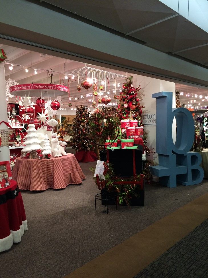 christmas display from our dallas showroom at the dallas market center winter 2015