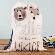 Personalizowane Prezenty Dla Dzieci Oryginalne Prezenty Dla Dzieci Laundry Bag Bags Decor