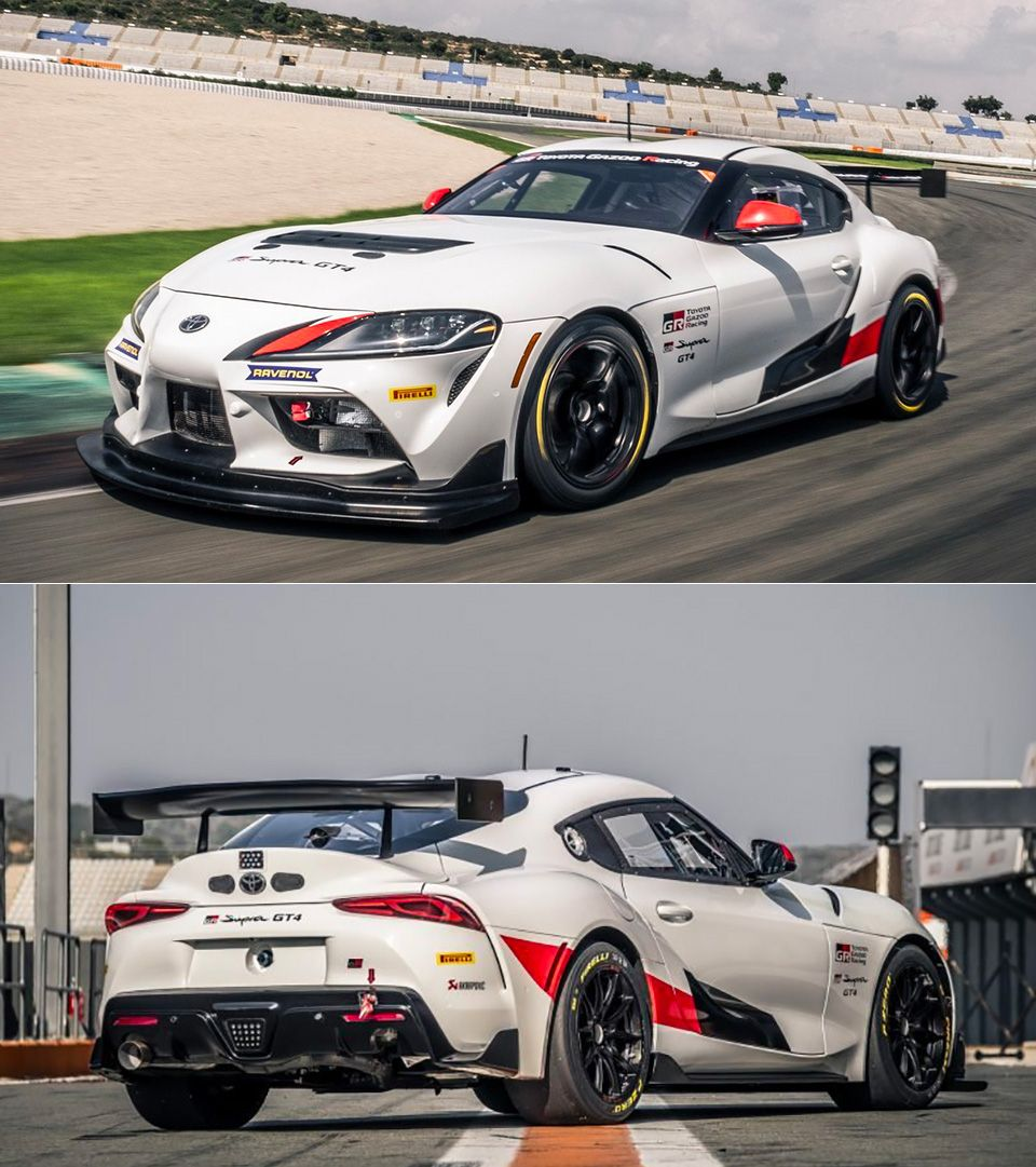2020 Toyota Gr Supra Gt4 Is A Track Only Model With 429hp From The Factory Toyota Toyota Supra Supra