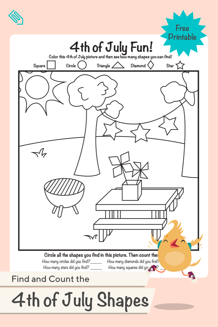 Can Your Child Find All The Shapes In This Festive Coloring Page Celebrate The 4th Of Shape Activities Preschool Preschool Coloring Pages Cool Coloring Pages [ 1102 x 735 Pixel ]