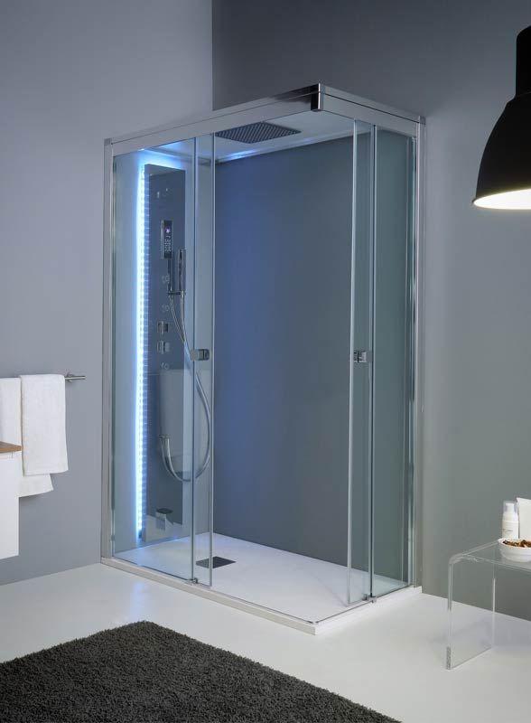 Aquadesign Vapor, scegli una cabina doccia multifunzione
