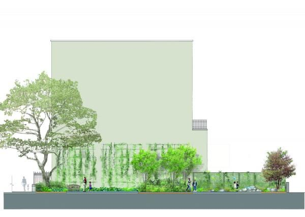 Pocket Park Starr Whitehouse Landscape Architects And Planners New York Landscape Architects パース