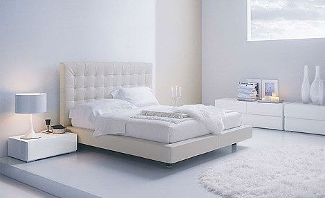 Modern White Bedroom Furniture | Future Home ideas | White bedroom ...