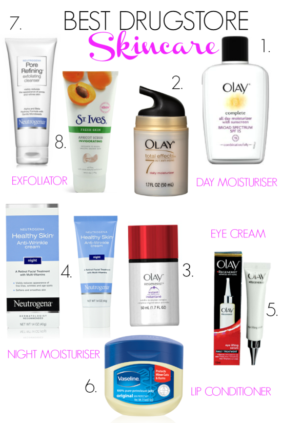Essential Drugstore Skincare Products Need