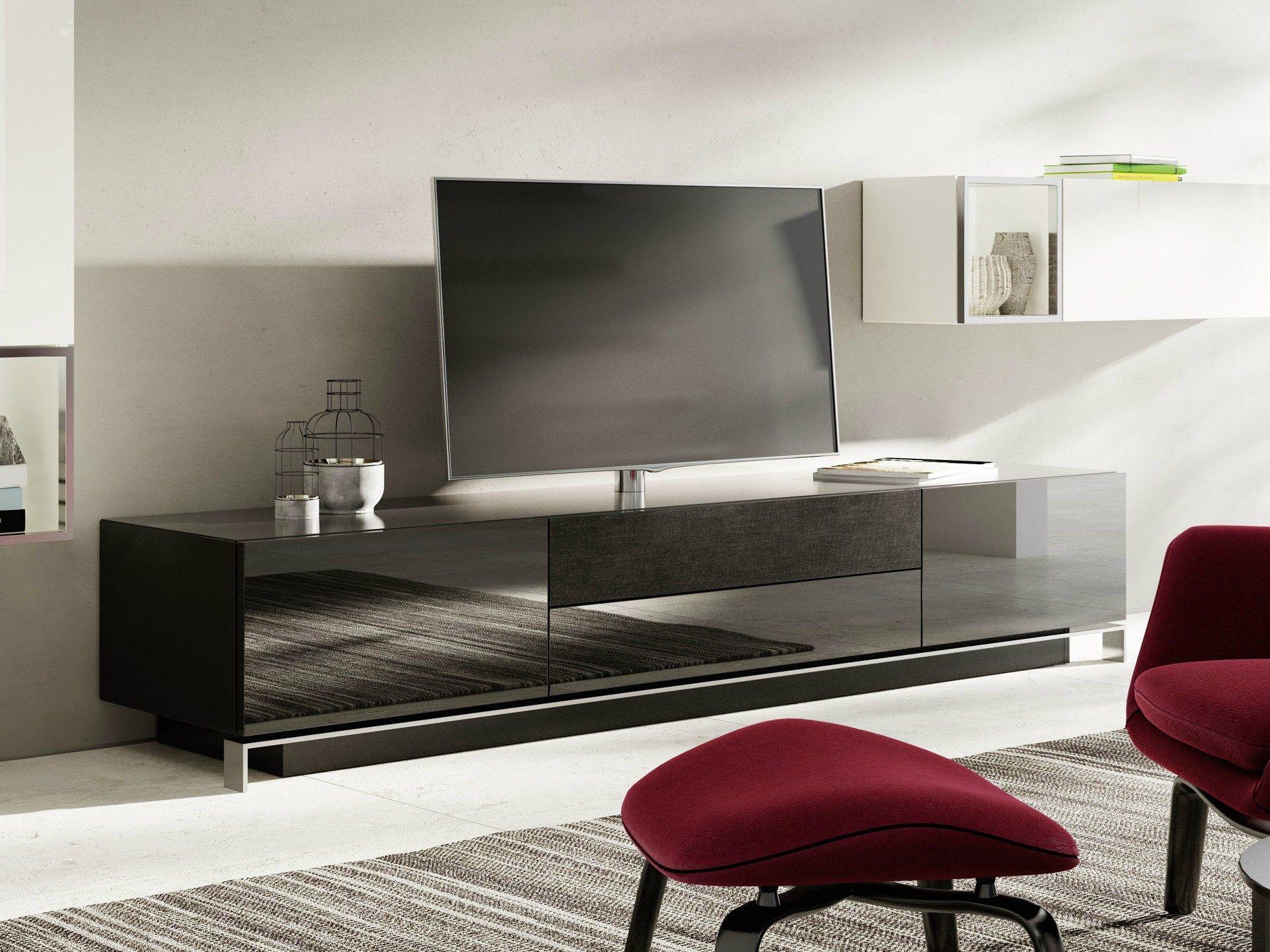 Wohnzimmermöbel Hülsta ~ Wohnwand in grau nussbaumfarben hülsta möbel wohnzimmer und