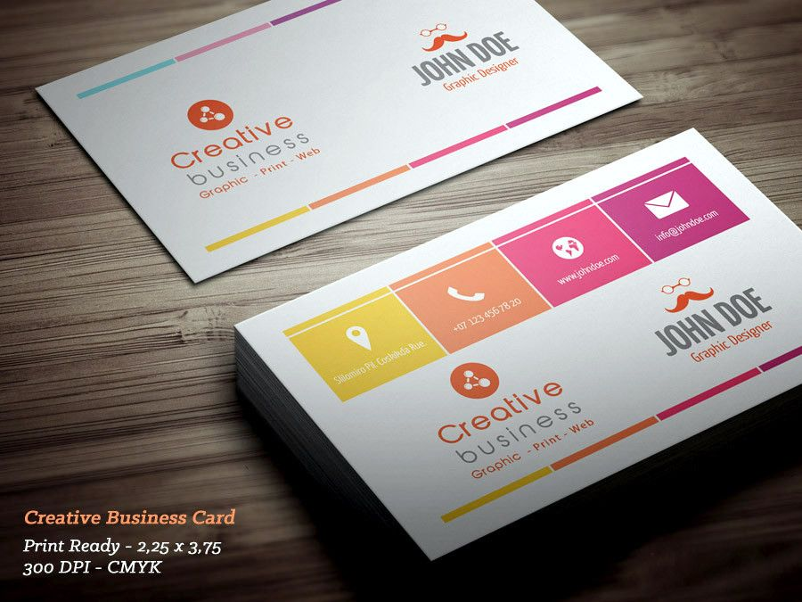 Free Personal Business Card Template PSD | business cards ...