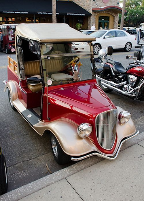 50 Totally Pimped Out Golf Carts Refined Guy Custom