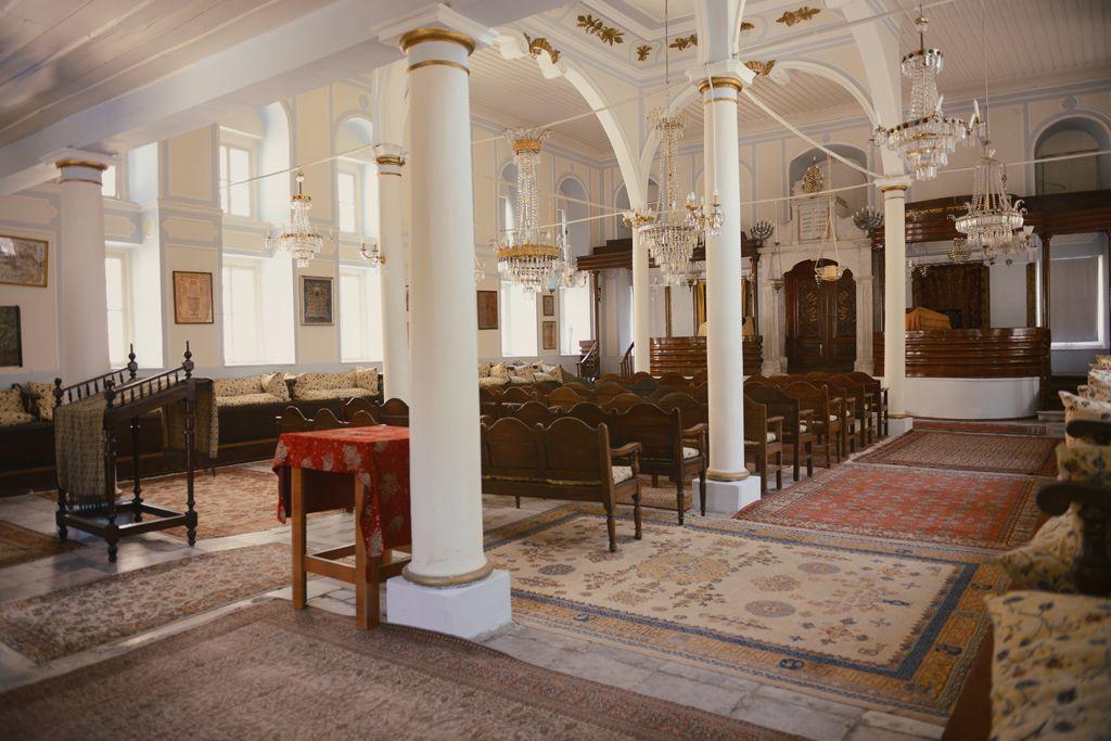 Signora Giveret Synagogue Izmir Estambul Turquia