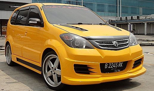 modifikasi grand new avanza hitam review kijang innova diesel mobil kuning modif pinterest toyota