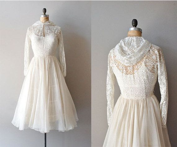 r e s e r v e d...vintage 1940s wedding dress / lace 40s dress ...