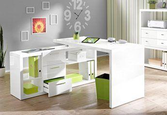 Eck Schreibtisch Hmw Kopenhagen Mit Regalelement Raume