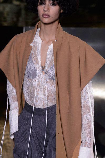 that cape!!!   H&M at Paris Fall 2016 (Details)