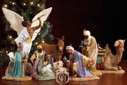 BlackNews.com - Black Nativity Figurines From Thomas ...