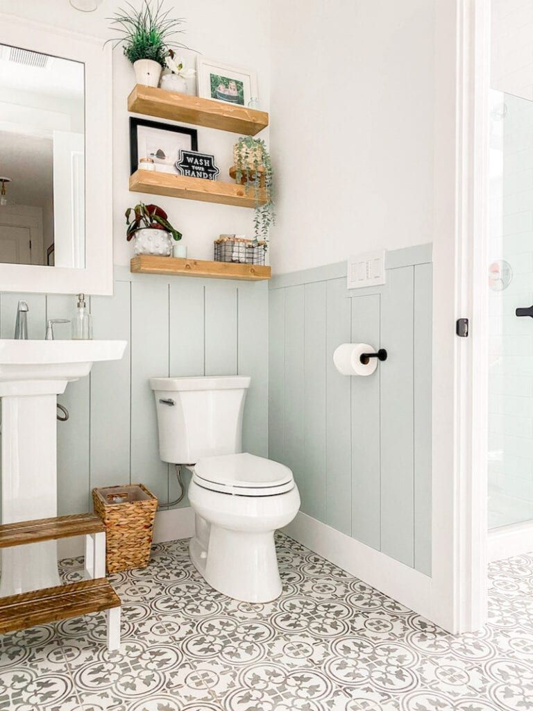 Bathroom Shiplap - Transform Your Bathroom with Vertical Shiplap! -