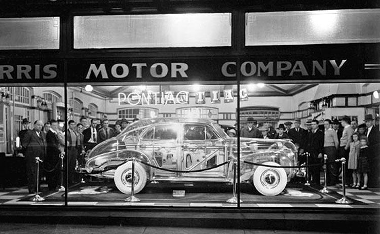 In 1939  Pontiac Built A Transparent Car From Plexiglas