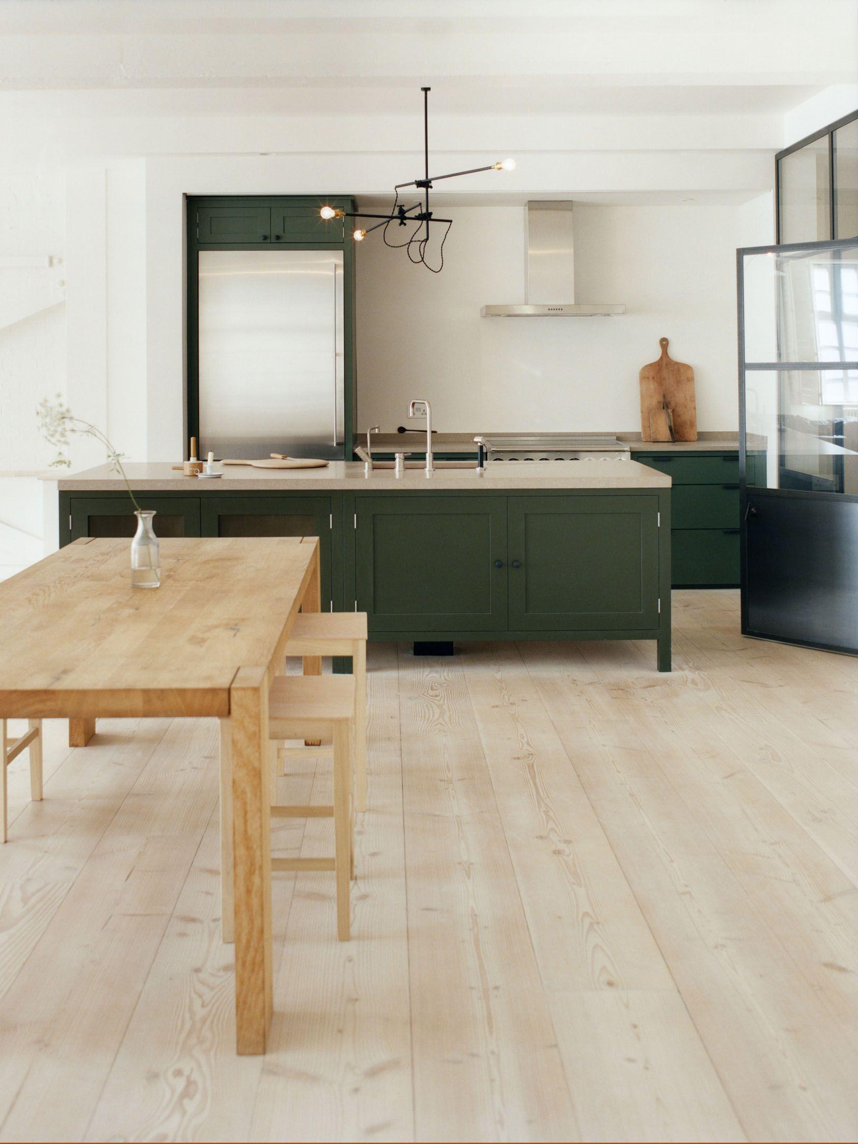 The Osea Kitchen By Plain English Www Plainenglishdesign Co Uk Kitchen Design Trends Green Kitchen Cabinets Kitchen Design