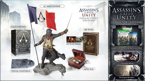 Collectors Edition Assassins Creed Unity Wiki Guide Ign