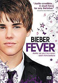 JUSTIN BIEBER-BIEBER FEVER-JUSTIN BEIBER-BRAND NEW DVD