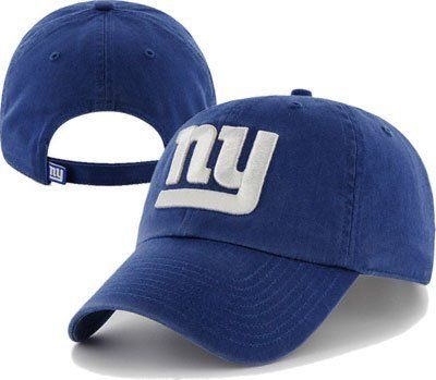 2b65cc95 NFL New York Giants Clean Up Adjustable Hat, Royal, One Size Fits ...