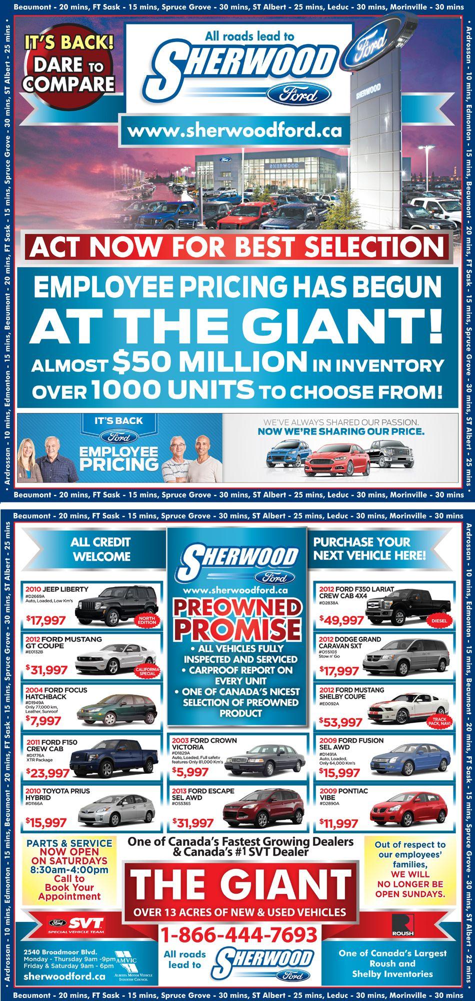 Sherwood Fords deals #yeg #shpk #ford #sales #trucks #cars ...