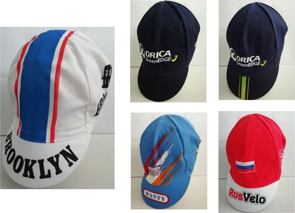 CAPPELLINO SOTTOCASCO CICLISMO TEAM PRO VINTAGE CYCLING HAT CAP OLD TEAMS  349a07ad1770