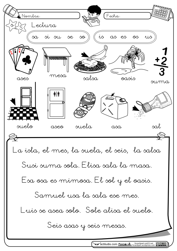Lectura S   recordar   Pinterest   Lectura, Las letras y Lengua