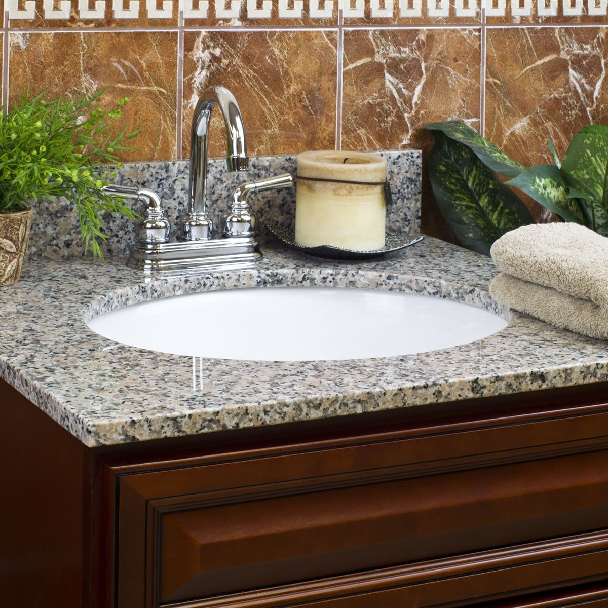 Burlywood Granite Vanity Tops Vanity Tops Bathroom Bathroom