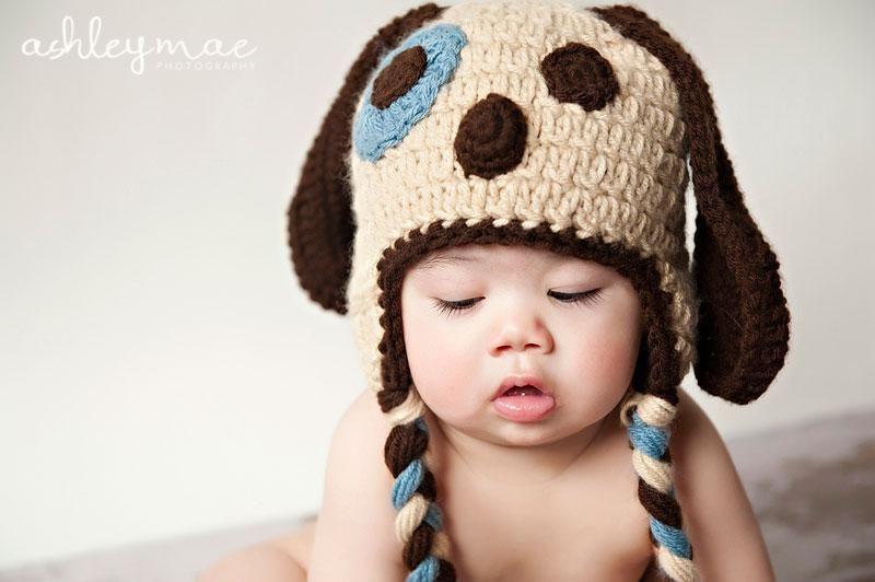 Crochet Puppy Dog Hat Pattern  9e4df412eff