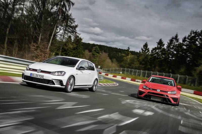2017 Volkswagen Golf Gti Club Sport S New King Of Nurburgring