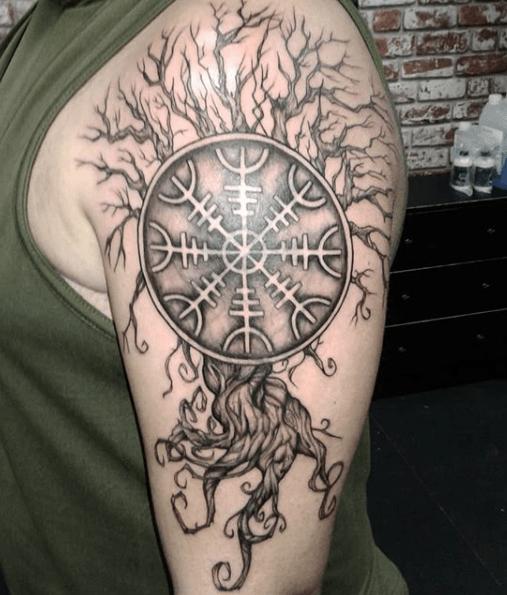 Top 20 Yggdrasil Tattoo Designs Symbolism Mythology Yggdrasil Tattoo Tattoos Tattoo Designs