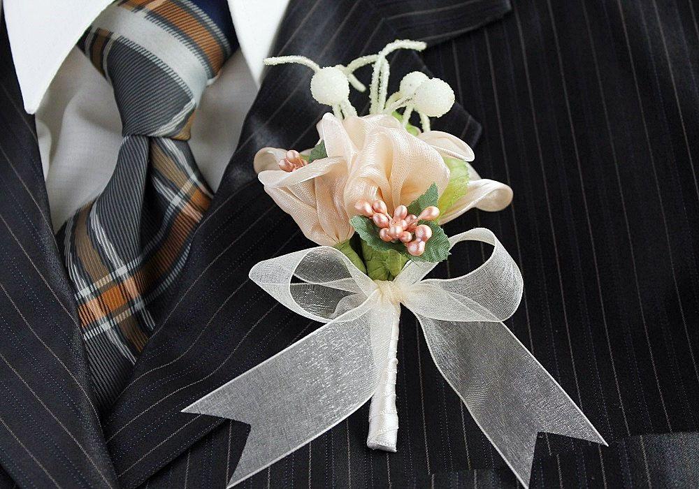 Peach Hombres Boutonniere Pin De Corsage De Flores De Novio Etsy Groom Boutonniere Boutonniere Wedding Peach Wedding