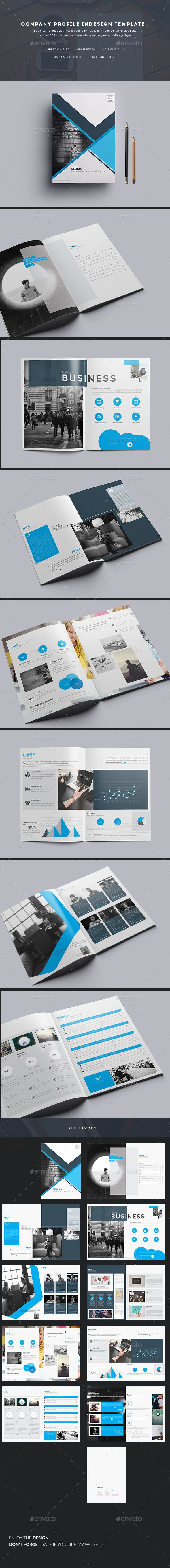 Company Profile InDesign Template