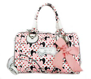 GUESS HANDBAG PIN UP BOX PINK HEARTS CUTE GIRLY BAG ! | things i ...