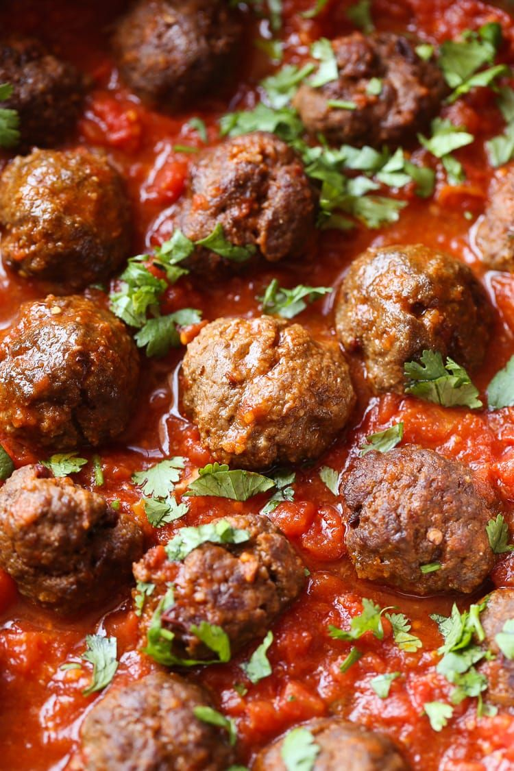 chipotle meatballs