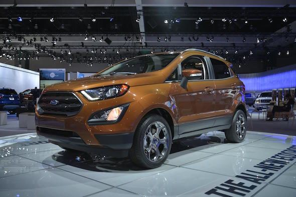 Ford Unveils New Ecosport Subcompact Suv The Cargurus Blog Subcompact Suv Subcompact Upcoming Cars
